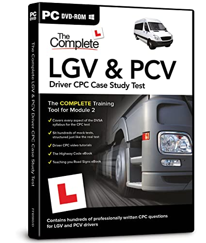 The Complete LGV and PCV Driver CPC Case Study Test from FOCUS MULTIMEDIA
