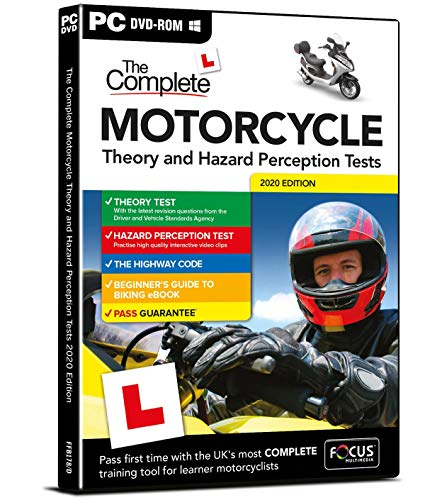 The Complete Motorcycle Theory and Hazard Perception Test 2019 (Dts) from Focus Multimedia Ltd