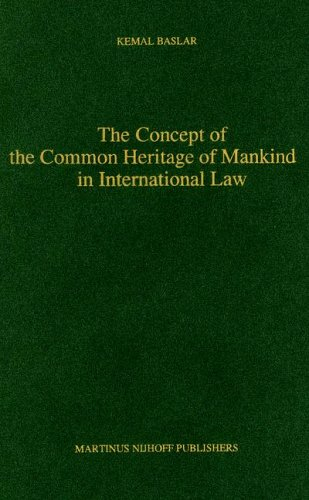 The Concept of the Common Heritage of Mankind in International Law (Developments in International Law) from Brill
