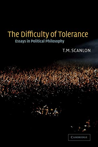 The Difficulty of Tolerance: Essays in Political Philosophy from Cambridge University Press