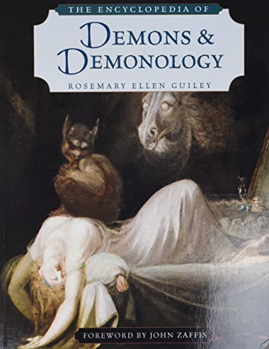 The Encyclopedia of Demons and Demonology from Checkmark Publishing