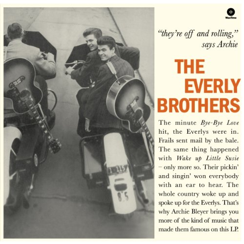 The Everly Brothers + 4 Bonus Tracks - 180 Gram [VINYL] from WAX TIME RECORDS