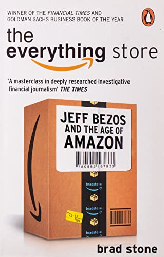 The Everything Store: Jeff Bezos and the Age of Amazon from Corgi