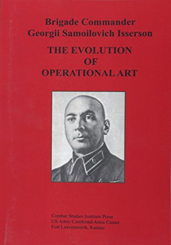 The Evolution of Operational Art from CreateSpace Independent Publishing Platform
