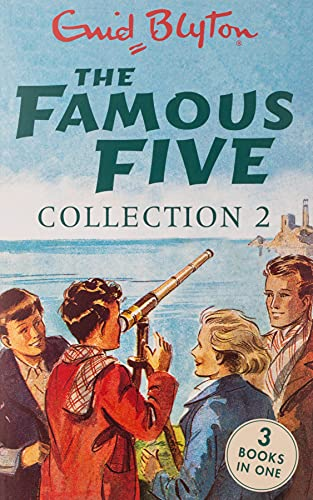 The Famous Five Collection 2: Books 4-6 (Famous Five: Gift Books and Collections) from Hodder Children's Books