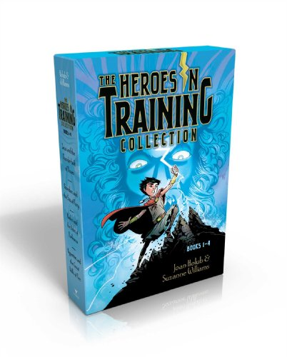 The Heroes in Training Collection, Books 1-4: Zeus and the Thunderbolt of Doom/Poseidon and the Sea of Fury/Hades and the Helm of Darkness/Hyperion and the Great Balls of Fire from Aladdin Paperbacks