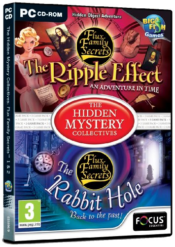 The Hidden Mystery Collectives - Flux Family Secrets 1 and 2 (PC CD) from FOCUS MULTIMEDIA