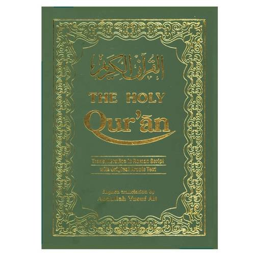 The Holy Qur'an: Transliteration in Roman Script with Arabic Text and English Translation from Kitab Bhavan