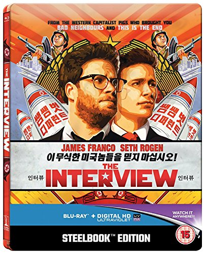The Interview (Limited Edition Steelbook) [Blu-ray] [2015] [Region Free] from Sony Pictures Home Entertainment