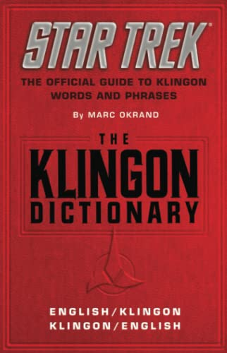 The Klingon Dictionary: English/Klingon, Klingon/English (Star Trek) from Star Trek