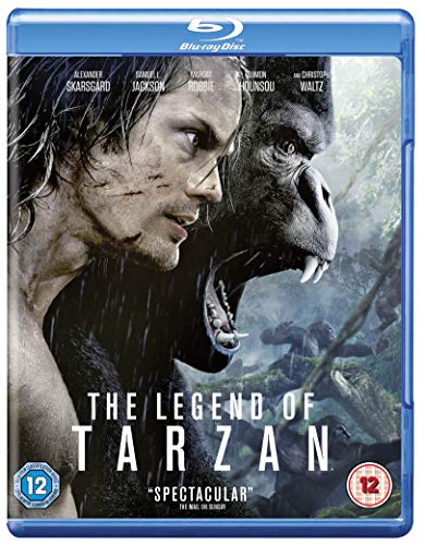 The Legend of Tarzan [Includes Digital Download] [Blu-ray] [2016] [Region Free] from Warner Home Video