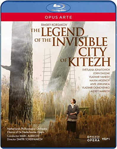 The Legend of the Invisible City of Kitezh [Blu-ray] [2013] [Region Free] from Opus Arte