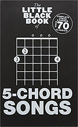 The Little Black Book Of 5-Chord Songs (Little Black Songbook) from Music Sales