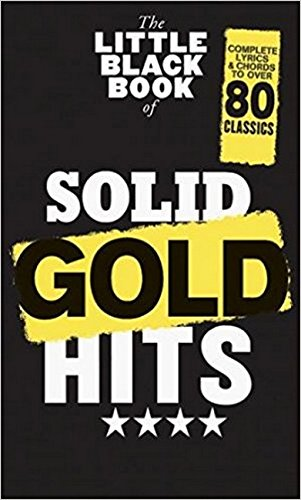 The Little Black Book Of Solid Gold Hits Book from Wise Publications