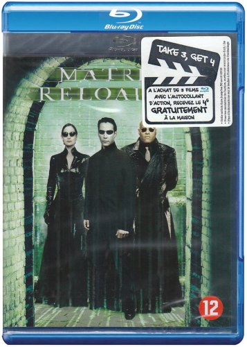 The Matrix Reloaded [Blu-Ray] (English audio. English subtitles) from Galapagos