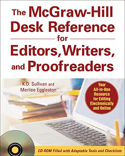 The McGraw-Hill Desk Reference for Editors, Writers, and Proofreaders(Book + CD-Rom) from McGraw-Hill Education