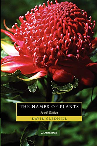 The Names of Plants from Cambridge University Press