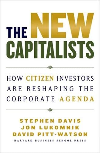 The New Capitalists: How Citizen Investors Are Reshaping the Corporate Agenda from KLO80