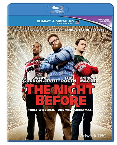 The Night Before [Blu-ray] [2015] [Region Free] from Sony Pictures Home Entertainment