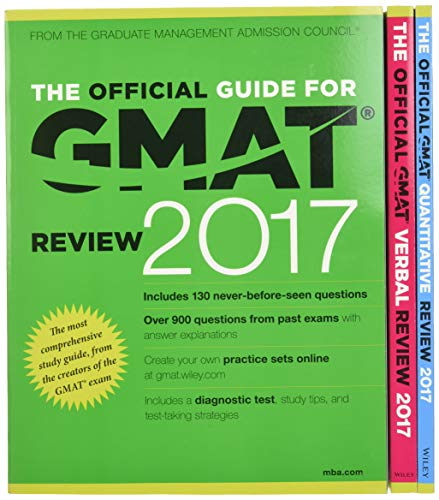 The Official Guide to the GMAT Review 2017 Bundle + Question Bank + Video from John Wiley & Sons