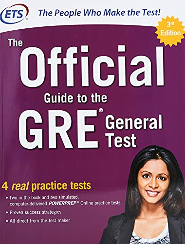 The Official Guide to the GRE General Test, Third Edition from McGraw-Hill Education