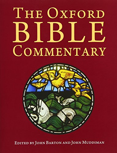 The Oxford Bible Commentary from OUP Oxford
