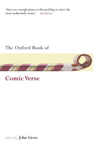 The Oxford Book Of Comic Verse (Oxford Books Of Prose & Verse) from Oxford University Press, U.S.A.