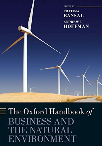 The Oxford Handbook of Business and the Natural Environment (Oxford Handbooks) from Oxford University Press, Usa