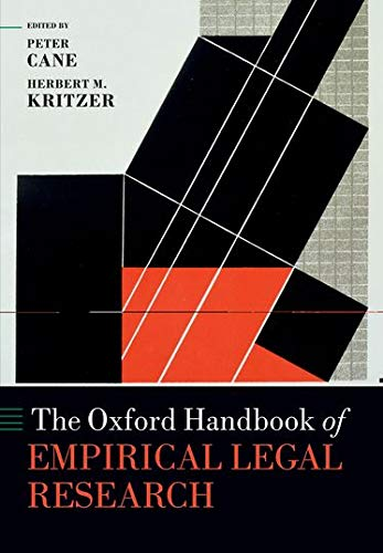 The Oxford Handbook of Empirical Legal Research (Oxford Handbooks in Law) from OUP Oxford