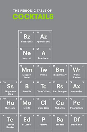 The Periodic Table of COCKTAILS from Ebury Press