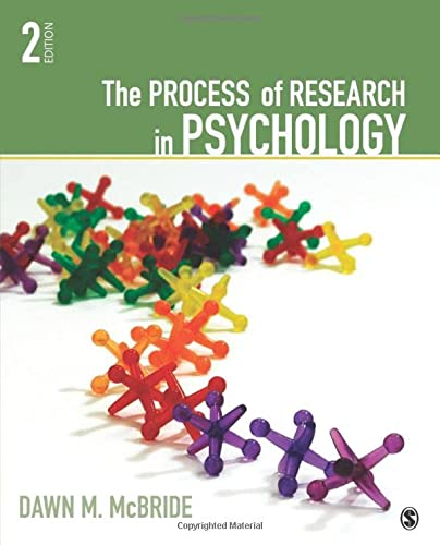 The Process of Research in Psychology from SAGE Publications, Inc