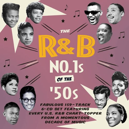 The R&B No. 1s of the 1950s (6CD)