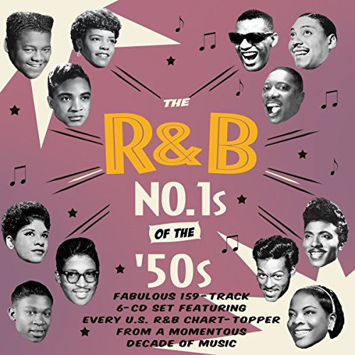 The R&B No. 1s of the 1950s (6CD) from Acrobat