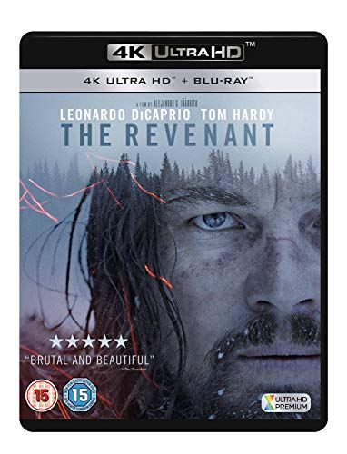 The Revenant [4K Ultra HD Blu-ray + UV Copy] [2016] from 20th Century Fox Home Entertainment
