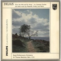 The Royal Philharmonic Orchestra Delius: Over The Hills And Far Away / In A Summer Garden & other music by Massenet, Grétry and Méhul 1960 UK vinyl LP G03625L