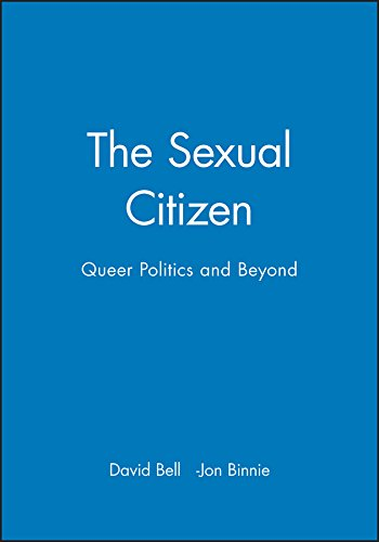The Sexual Citizen: Queer Politics and Beyond from Polity Press