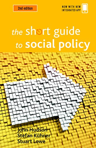 The Short Guide to Social Policy (Short Guides) from Policy Press