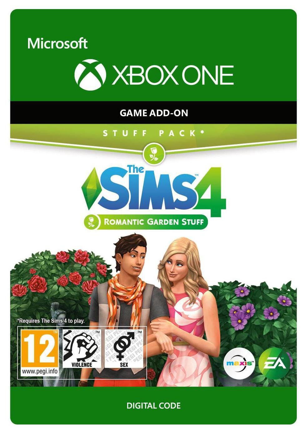 The Sims 4 Romantic Garden Expansion Pack Xbox One from Microsoft