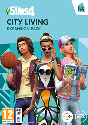 The Sims 4: City Living Expansion Pack (PC DVD) from Electronic Arts