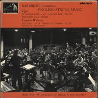 The Sinfonia Of London Barbirolli Conducts English String Music - 2nd 1963 UK vinyl LP ASD521