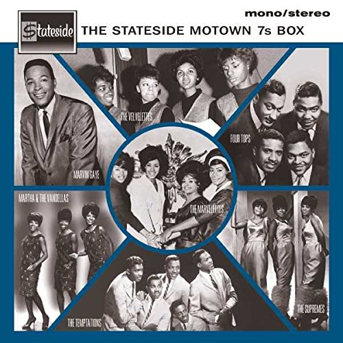 "The Stateside Motown 7s [7 inch Vinyl Box Set] [12"" VINYL]"