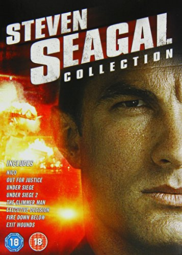 The Steven Seagal Collection: Executive Decision / Exit Wounds / Fire Down Below / Nico / Out for Justice / The Glimmer Man / Under Siege / Under Siege 2 [DVD] [2002] from Whv