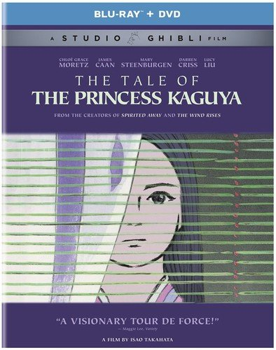 The Tale of the Princess Kaguya [Blu-ray + DVD][Region 1] [US Import] from Universal Studios