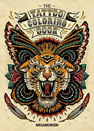 The Tattoo Colouring Book from Laurence