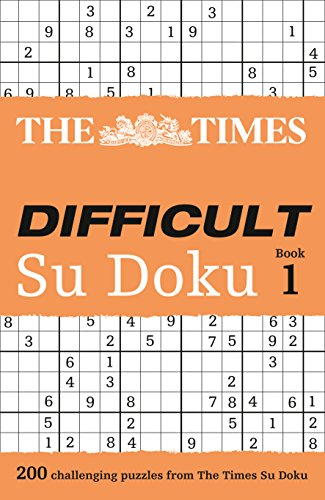 The Times Difficult Su Doku Book 1: 200 dreadfully tricky Su Doku puzzles from HarperCollins UK