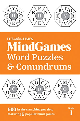 The Times Mind Games Word Puzzles and Conundrums Book 1: 500 brain-crunching puzzles, featuring 5 popular mind games from HarperCollins UK