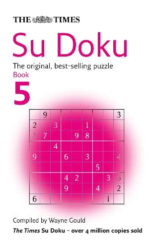 The Times Su Doku Book 5: 100 original puzzles: Bk. 5 from HarperCollins UK