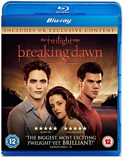 The Twilight Saga: Breaking Dawn - Part 1 (Single Disc) [Blu-ray] from Universal Pictures UK