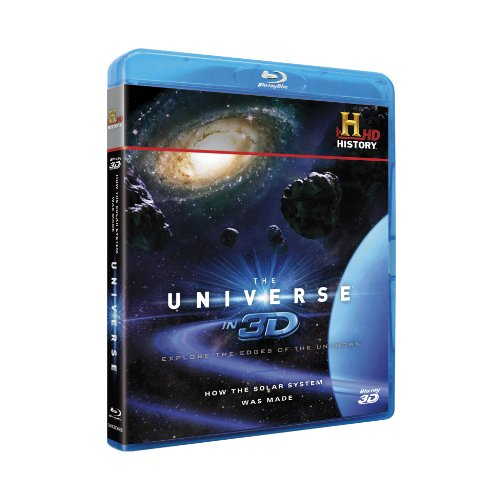 The Universe in 3D: How The Solar System Was Made [Blu-ray 3D] from History Channel