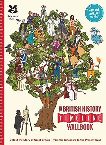 The What on Earth? Wallbook Timeline of British History (UK Timeline Wallbooks) from What on Earth Publishing